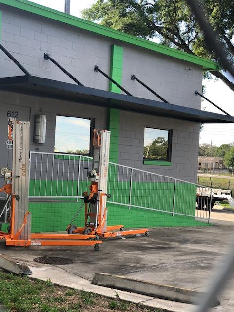 Aluminum Canopies and Walkways
