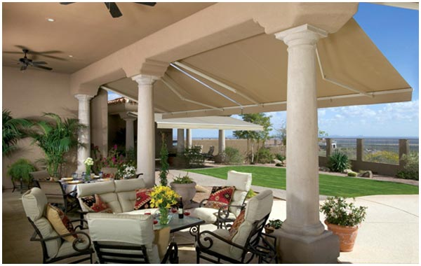 Outdoor Spaces and Retractable Awnings