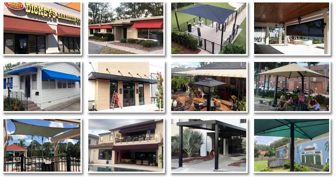 Greenwood Awnings and Metal Works Product Showcase