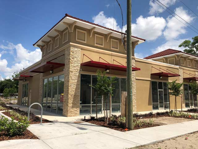Retail Entrance Awnings