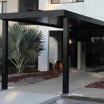 Custom aluminum walkway cover