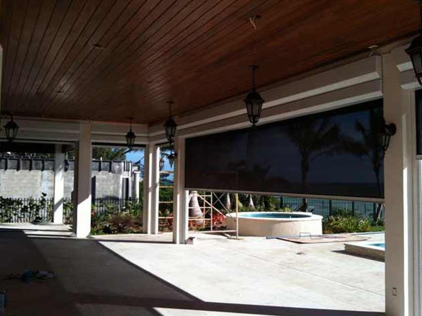 Motorized Sun Screens