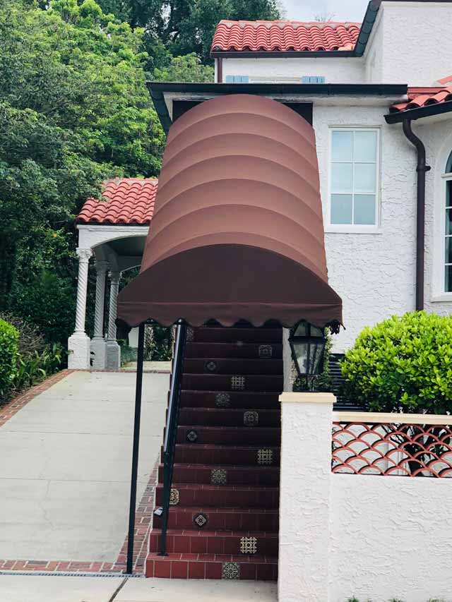 Covered Stairs
