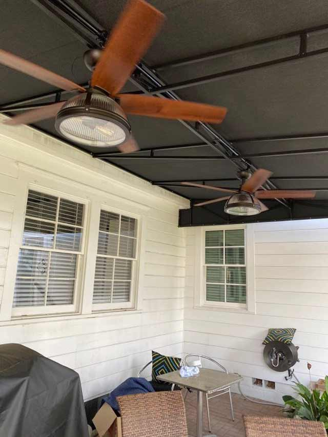 Awnings with Electrical
