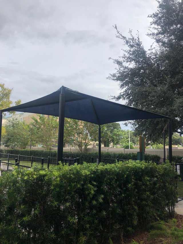 Outdoor Break Area Sun Shade