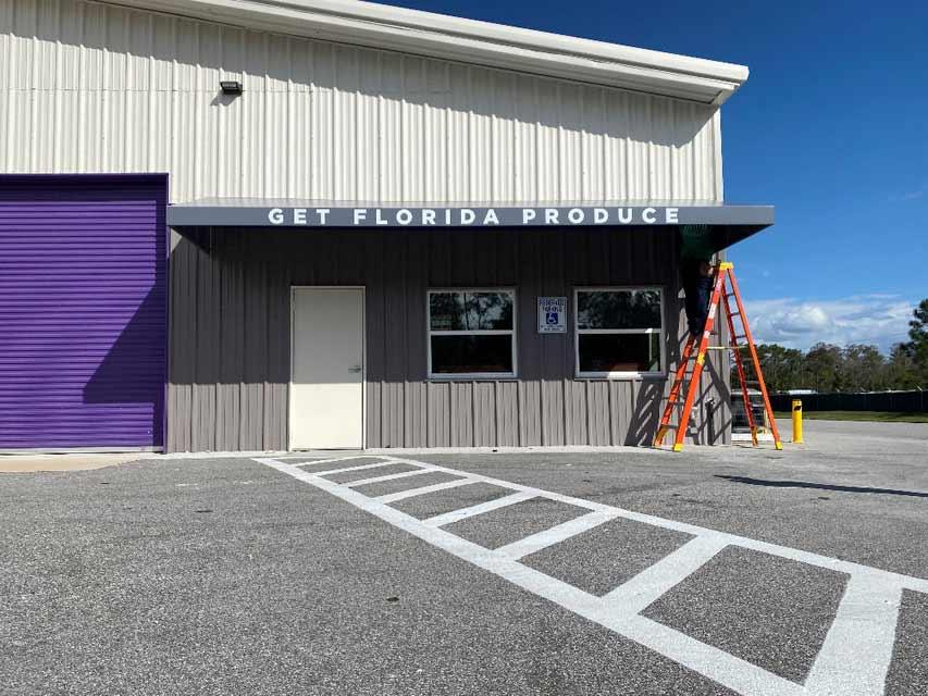 Get Florida Produce Awning