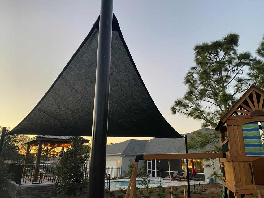 Stylize Outdoor Spaces with Shade Sails