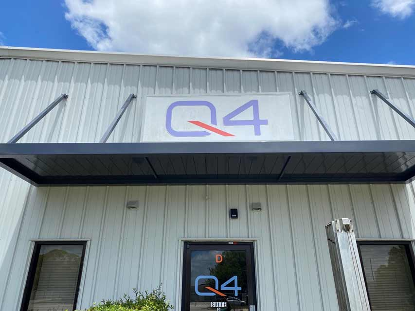 Custom Commercial Metal Awning Q4