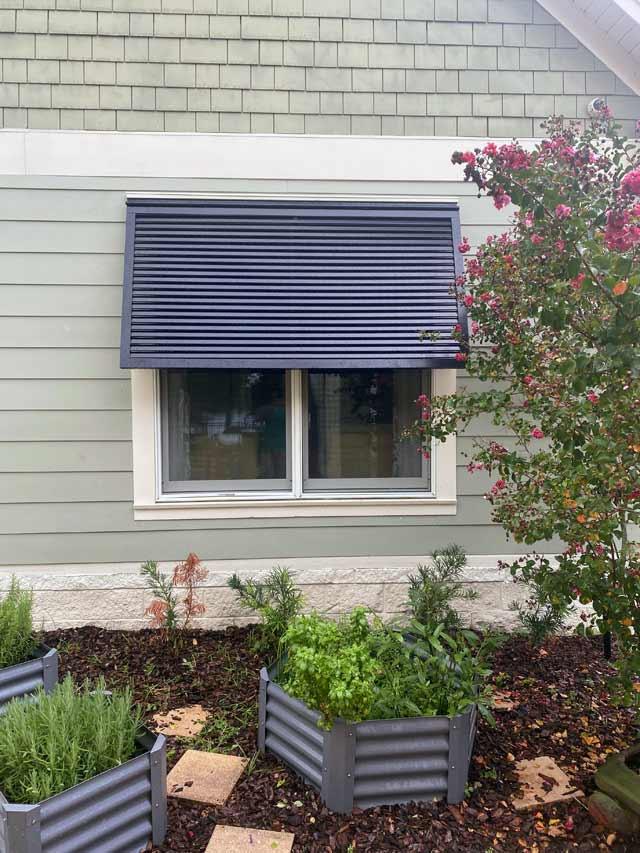 Decorative Metal Window Shades