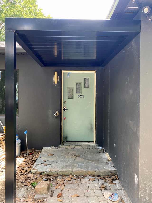 Modern Residential Walkway Cover