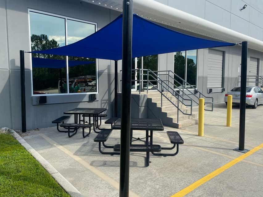 Sun shade Tension Structure